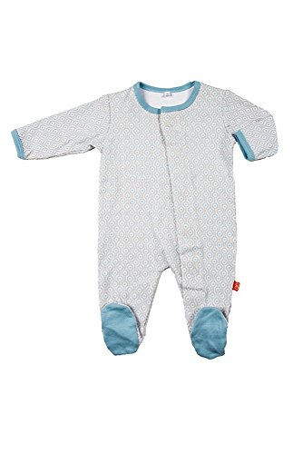 Magnificent Baby Baby Boys' Footie, Mod Dots 9 Months