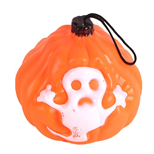 Halloween Plastic Lantern Jack-O-Lantern Pumpkin LED Lantern Light