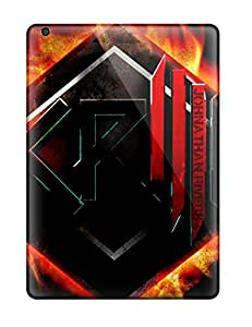 Quality Karencases Case Cover With Skrillex Fire Nice Appearance Compatible With Ipad Air