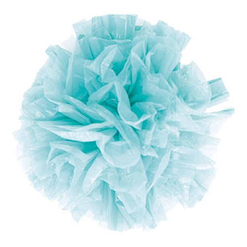 Weddingstar 2333-31 Package of 25 Just Fluff Colored Plastic Poms- Fuchsia