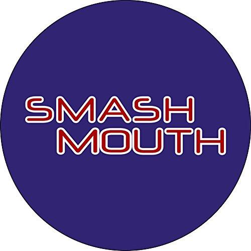 Smash Mouth - Logo On Blue - 1.25