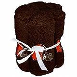 NFL Cleveland Browns 6 Pack Washcloth Set