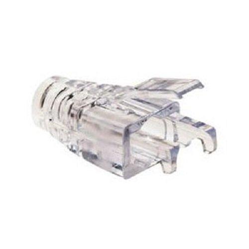 Platinum Tools 202036J EZ-RJ45 CAT6+ Clear Strain Relief, 100-Pack