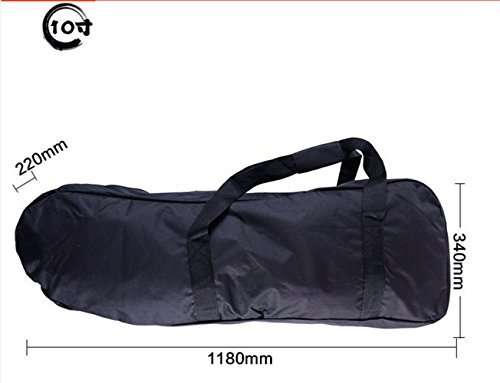 Black Oxford Electric Scooter Carry Bag Backpack Handbag for Electric Kick Motor 8 Inch Scooter and 10 Inch Scooter Accessories (10 inch scooter - 400 Oxford Street