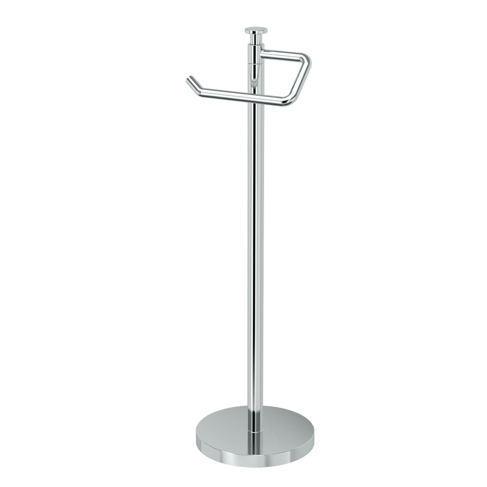 Gatco 1435C, Freestanding Toilet Paper Holder, 23.5 H, Chrome by Gatco