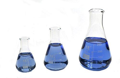 Erlenmeyer Flask 100ml Narrow Borosilicate product image