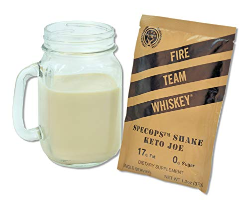 MCT Oil Keto Coffee Shake (3 Single Serving Shake Packages)