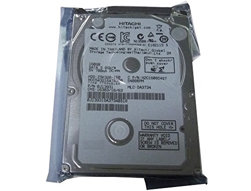 Compaq Notebook Hard Disk - Hitachi 160GB 5400RPM 8MB Cache SATA 3.0Gb/s 2.5