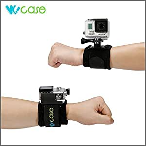 WoCase® Wrist Strap Mount for GoPro HD HERO3+ 3 2 1 Cameras (Compatible with Housing and Frame)