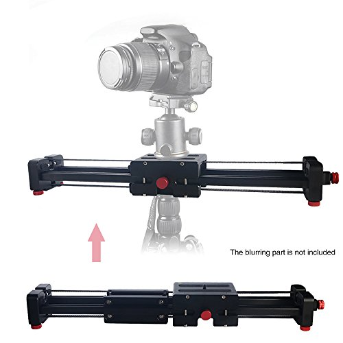 Mcoplus Portable Adjustable Video Camera Slider 500mm for Canon Nikon Sony DSLR DV Camera Dolly Stabilizer