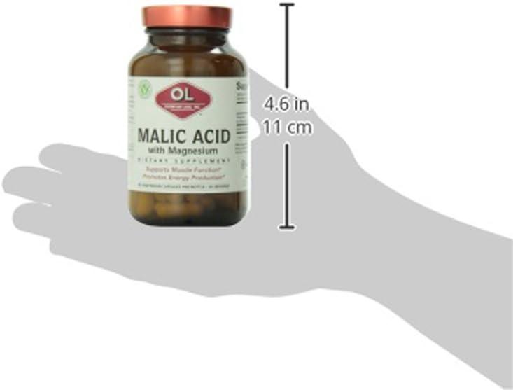 Olympian Labs Malic Acid, 300mg, 90 Capsules