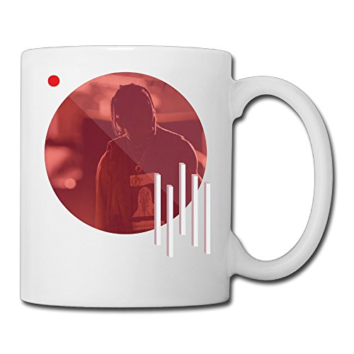 Cool Travi$ Scott Ceramic Coffee Mug, Tea Cup | Best Gift For Men, Women And Kids - 13.5 Oz, White (Rodeo Cookie Cutters compare prices)