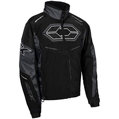 Castle X Blade G4 Men's Snowmobile Jacket - Black/Charcoal (3XL) (Mens Snowmobile Jackets 3xl)