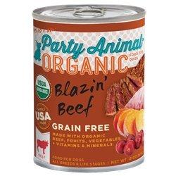 Party Animal Wet Dog Food - Blazin\' Beef - 13 oz - 12 pk