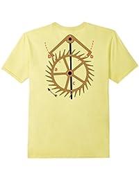 Clock Movement Escapement T-Shirt On Back
