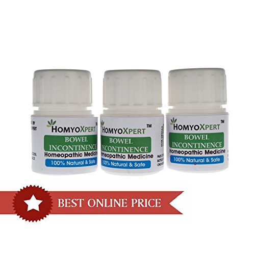 HomyoXpert Bowel Incontinence Involuntary Stool Homeopathic Medicine For One Month