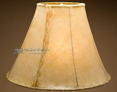 "Rawhide Lamp Shades 20"" (Bell Style)"