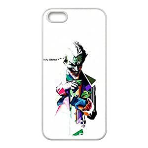 Fashionable Creative Harley Quinn an The Joker Cover case For iPhone 5, 5S FV4N93190