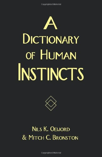 A Dictionary of Human Instincts