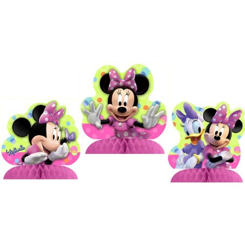 Disney Minnie Mouse Bow-tique Table Decorating Kit]()