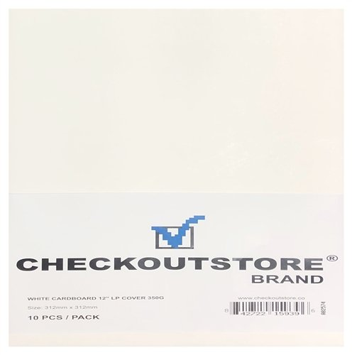 (CheckOutStore 10 Cardboard Jackets Cover for 12