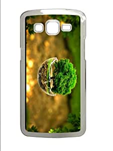 unique covers tree in sphere PC Transparent case/cover for Samsung Galaxy Grand 2/7106