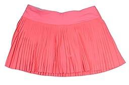 Lululemon Grapefruit Medium Rise Pleat to the Street Tennis Skirt II