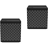 Juice Relay MG8SYBKG 10 Watt Wireless Bluetooth Speakers with Built in Linking System, Control Unit and Drone Speaker