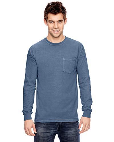 A Product of Comfort Colors Adult Heavyweight RSLong-Sleeve Pocket T-Shirt - T-shirt Adult Heavyweight Sleeve Long