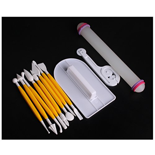 andux-land-11pieces-4-sets-cake-smoother-fondant-cutter-embosser-rolling-pin-modeling-tool-kit-set-d