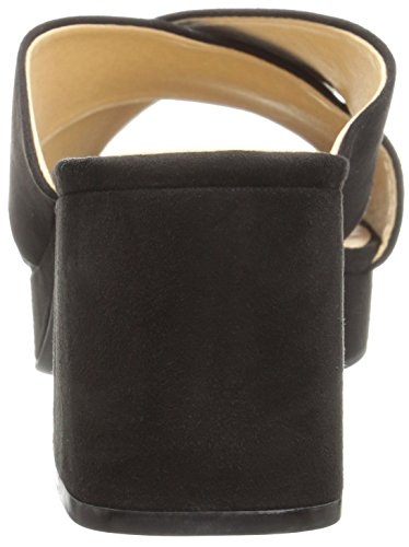 Laundry Sandal Slide Chinese Black Suede Women's Super by CL Kismet Platform gqH7Aa6wx