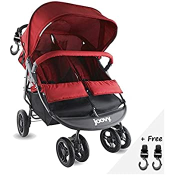 Amazon Com Double Tandem Baby Strollers Umbrella For