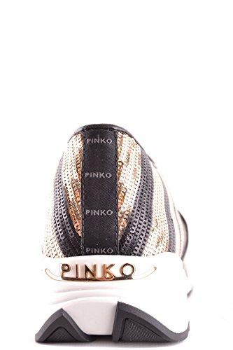 Nero Tessuto On Pinko Sneakers oro Donna Slip Mcbi242272o xq1SvHwY8