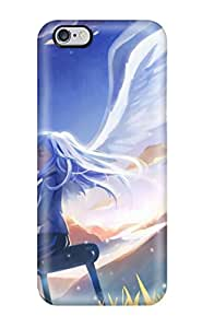 Shock-dirt Proof Angel Beats, Kanade Tachibana Case Cover For Iphone 6 Plus
