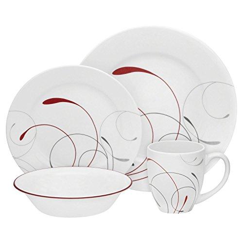 Corelle Round 16 Piece (Corelle Round 16-Piece Dinnerware Set, Splendor, Service for 4)