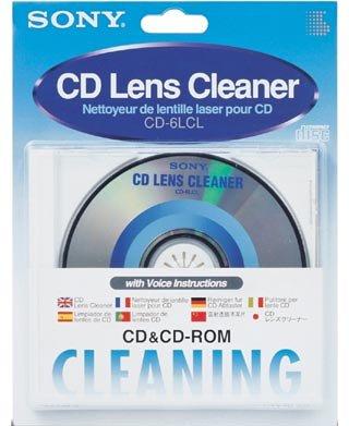 - Sony CD6LCL CD Lens Cleaner