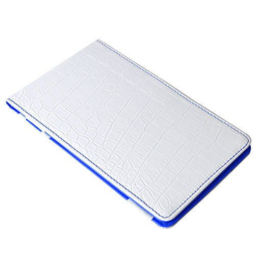 (On Par Crocodile Scorecard Holder White/Blue)
