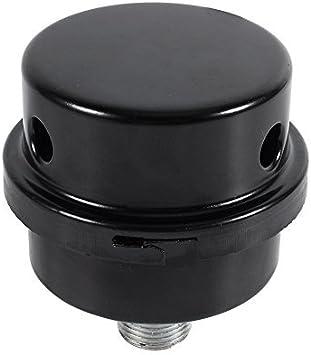 3 8 Luftschalldämpfer Filter Gewinde Anschluss Schalldämpfer Filter Metalleinlass Geräuschfilter Für ölfreien Luftkompressor Baumarkt