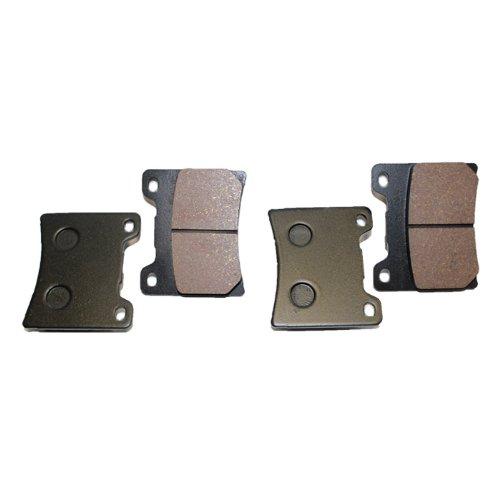 Caltric FRONT BRAKE Pads Fits YAMAHA XV1100 XV-1100 XV 1100 VIRAGO 1100 1986-1999 FRONT PADS