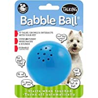Pet Qwerks Talking Babble Ball Interactive Pet Toy - Wisecracks & Makes Funny Sounds, Electronic…