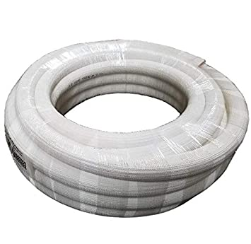 1//2 Black Insulation 3//8 Insulated Copper Coil Line Refrigerant Seamless Pipe Tube for HVAC 50 Long