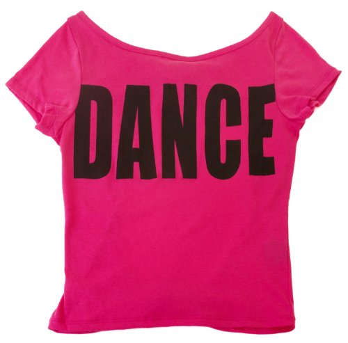 "Hip Hop ""DANCE"" Open Back T-shirt-- Small Adult"