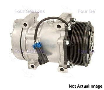 Cuatro Estaciones nueva york-diesel kiki-zexel-seltec dcs17e Compresor W/embrague (68674): Amazon.es: Coche y moto