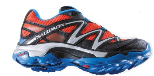Calzado de running para S XT Wings K - TOMATO RED/BLACK/BRIGHT BLUE