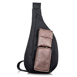 Leaper Water-Resistant Crossbody Bags Sling Bag Sling Backpack Shoulder Bag