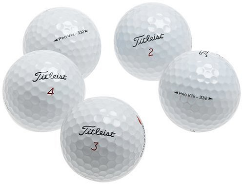 Titleist Pro V1 X AAA Recycled Golf Balls (36 Pack) ()