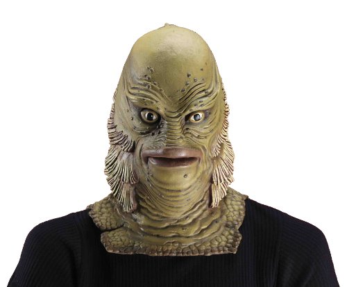 Forum Novelties Men's Universal Monster Creature From The Black Lagoon Mask, Multicolor, One - Mask Creature
