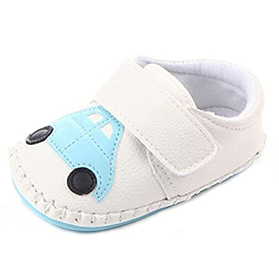 Lidiano Baby Non Slip Rubber Sole Cartoon Walking Slippers Crib Shoes Infant/Toddler
