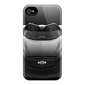 Frankqsmigh Premium Protective Hard Case For Iphone 4/4s- Nice Design - 2011 Chevrolet Mi Ray Roadster Concept