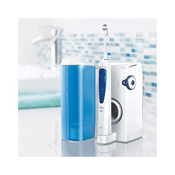 Oral-B Oxyjet Idropulsore con Sistema di Pulizia in Profondità e Tecnologia con Microbollicine, 4 Testine 6